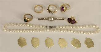 18K14K and 10K  Gold Jewelry Lot