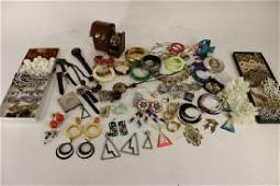 Large Mixed Lots Costume Jewelry & Watches