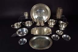 Sterling Silver Hollowware, American, 20th C.