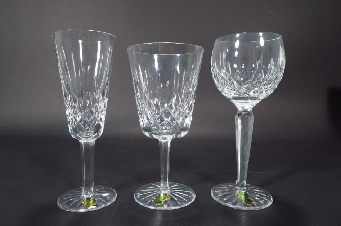 """36 Pieces of Waterford """"Lismore"""" stemware"""