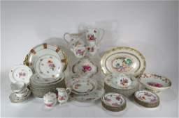 Grp.of KPM,Dresden & Others Eur. Porcelain,19th C.
