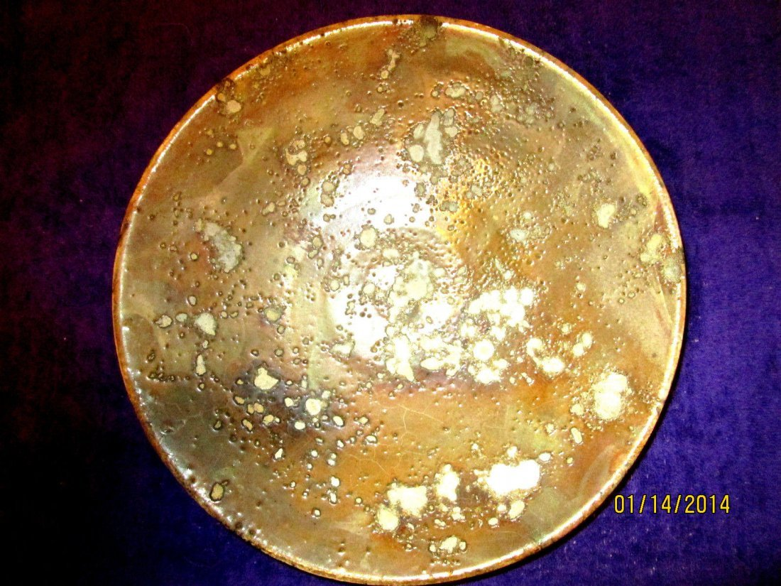 Tony Evans Raku Pottery 'Ancient Sands'