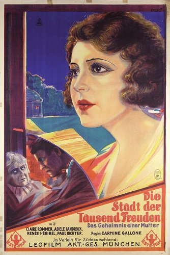 2: Altes Deutsches Filmplakat 1927