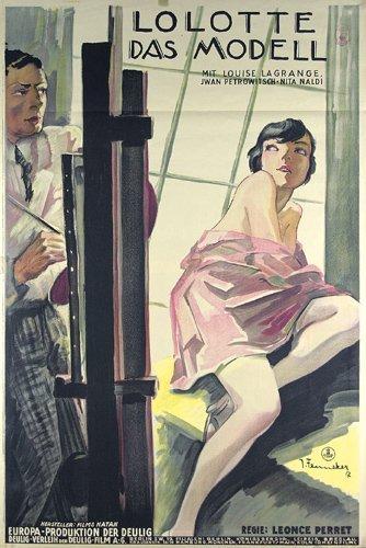 3: Altes Film Plakat JOSEF FENNEKER 1927 ORIGINAL