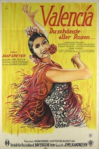 5: ALTES Plakat Valencia Film 1927