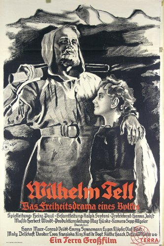 9: Altes Deutsches Filmplakat 1933 Wilhelm Tell