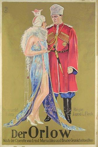 10: Altes Deutsches Filmplakat 1927 Der Orlow