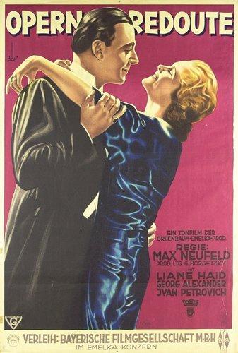 16: Altes Filmplakat 1931 OPERNREDOUTE