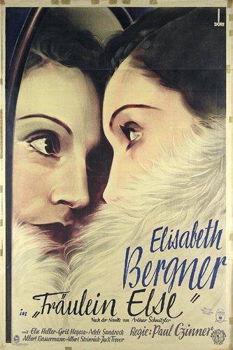 17: Altes Elizabeth Bergner Filmplakat 1929