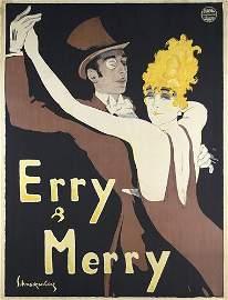 227: ORIG Schnackenberg Plakat Poster Erry & Merry