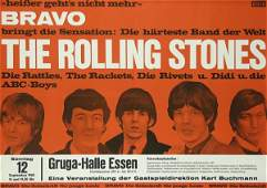 259: Altes Plakat 1965 Rolling Stones
