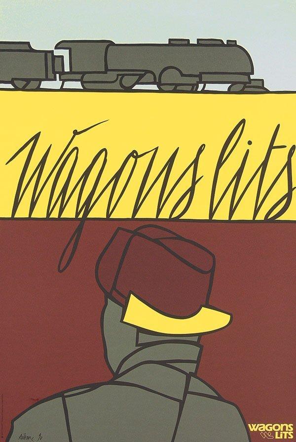 5: Original Wagons Lits Posters (6 Plakate)