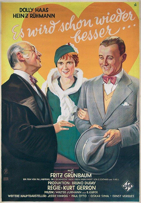 199: Original Film Plakat Es wird schon wieder besser .