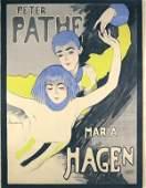286: Original Plakat Peter Pathe SCHNACKENBERG 1918