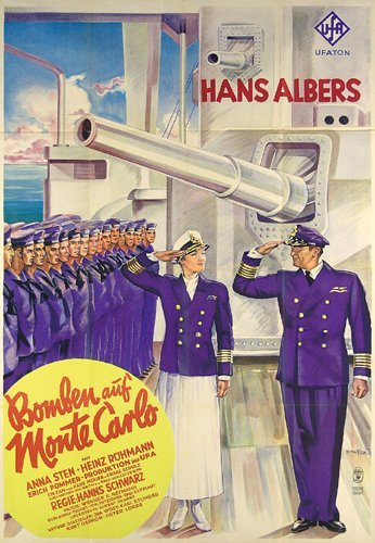 1: ORIGINAL FILM PLAKAT Bomben auf Monte Carlo