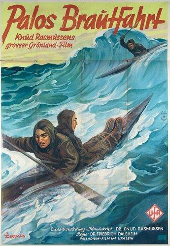 3: ORIGINAL FILM PLAKAT 1934 Palos Brautfahrt