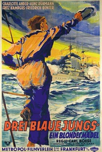 5: Original FENNEKER Plakat Poster 1933