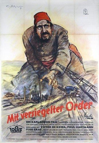 7: ORIGINAL FILM PLAKAT Theo Matejko 1937