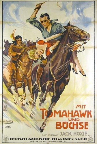 8: ORIGINAL Western Film Plakat Poster 1927