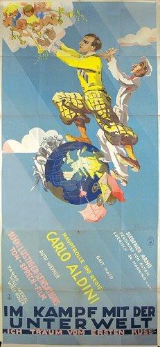 11: ORIGINAL FENNEKER Plakat Poster 1930 SELTEN