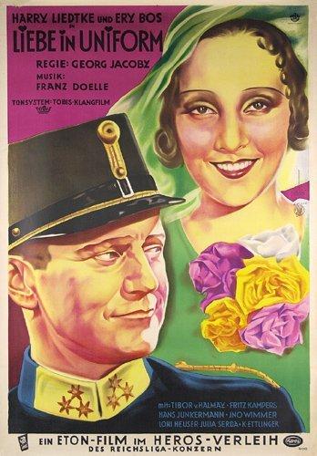 12: ORIGINAL FILM PLAKAT Liebe in Uniform 1932