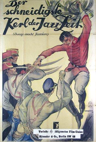 16: Tolles Original Film Plakat 1927