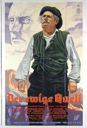 18: Original Film Plakat 1939 Ewige Quell