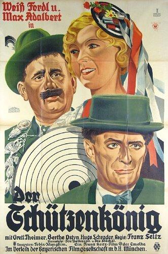 20: Original Film Plakat Schutzenkoenig 1932