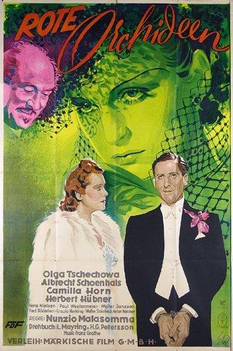 21: Original Film Plakat ROTE ORCHIDEEN 1938
