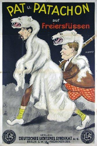 23: Original Film Plakat 1931 PAT UND PATACHON