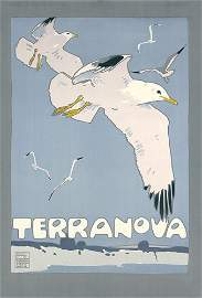 52: ORIGINAL Hohlwein Trerranova Plakat Poster 1909 ***