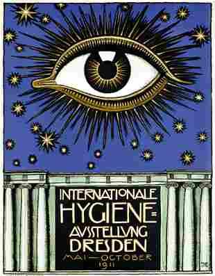 Seltenes Original Plakat Poster Stuck 1911