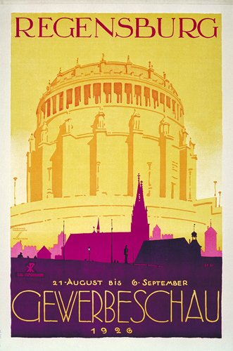 2: ORIGINAL Ludwig Hohlwein Poster Plakat 1926