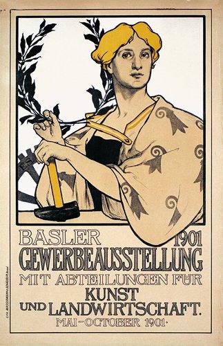 6: Schweizer Ausstellungsplakat Basel 1901