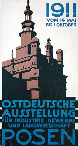 8: Original Old German Poster Plakat 1911