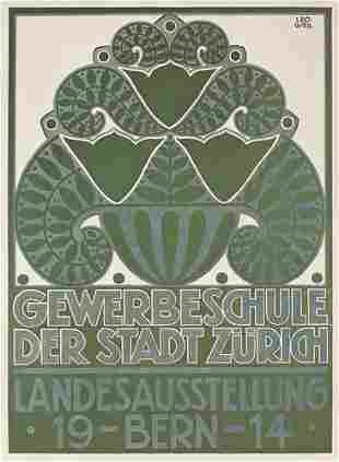 Schweizer Ausstellungsplakat Bern 1914
