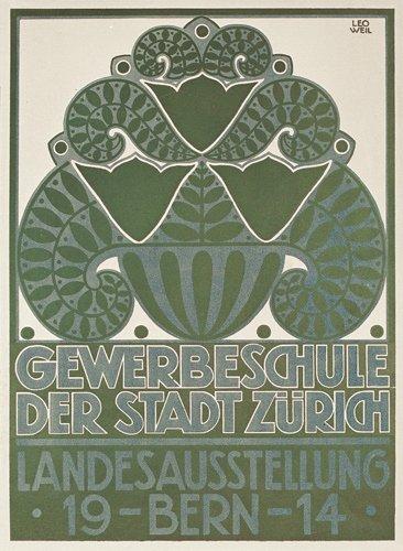 13: Schweizer Ausstellungsplakat Bern 1914
