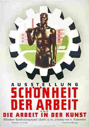Altes deutsches Plakat 30er Jahre