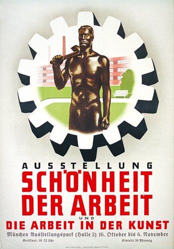14: Altes deutsches Plakat 30er Jahre