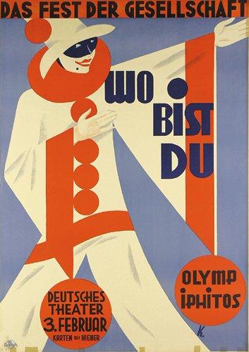 11: ALTES Plakat Poster Keimel 1927