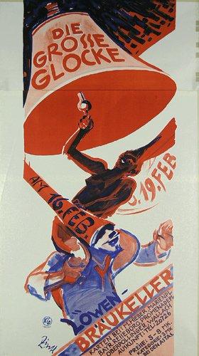 21: Plakat Die grosse Glocke 1928 ORIGINAL