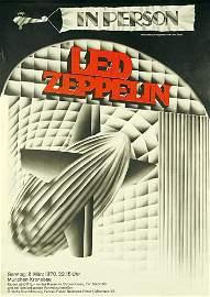 223: ORIGINAL PLAKAT Led Zeppelin 1970