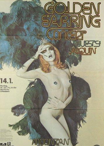 277: Golden Earring KONZERT PLAKAT 1974
