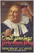 166: ORIGINAL Film Plakat Der zerbrochene Krug 1937