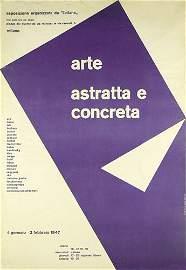 262: ORIGINAL Design Plakat Poster MAX HUBER 1947
