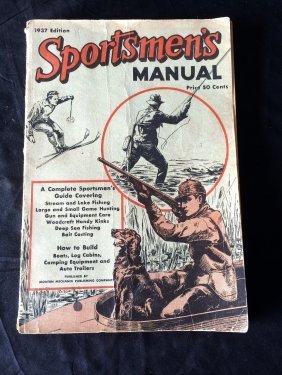 1937 Sportsmen's Manual Magazine