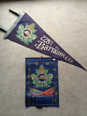 Ww I Pennant And Banner
