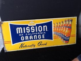 Mission Orange Sign