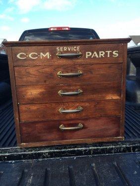 Ccm Parts Cabinet