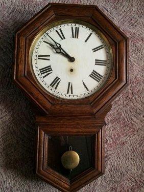 Pequegnat Brandon Model Wall Clock